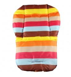 FOUER WHEEL - Stripe Baby Car Seat Accessories Pink