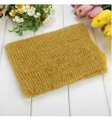 24E - Newborn Baby Stretch Knit Rayon Soft Swaddle Wrap Gray Green