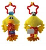 VAKIND - Baby Soft Animal Handbells Toy Yellow