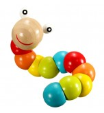 AA - Twist Wooden Baby Fingers Flexible Training Toys