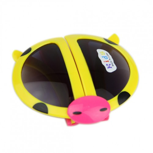 de46dda048 OEM - Fashion Cartoon Style Folding Beetle Kids Sunglasses Yellow