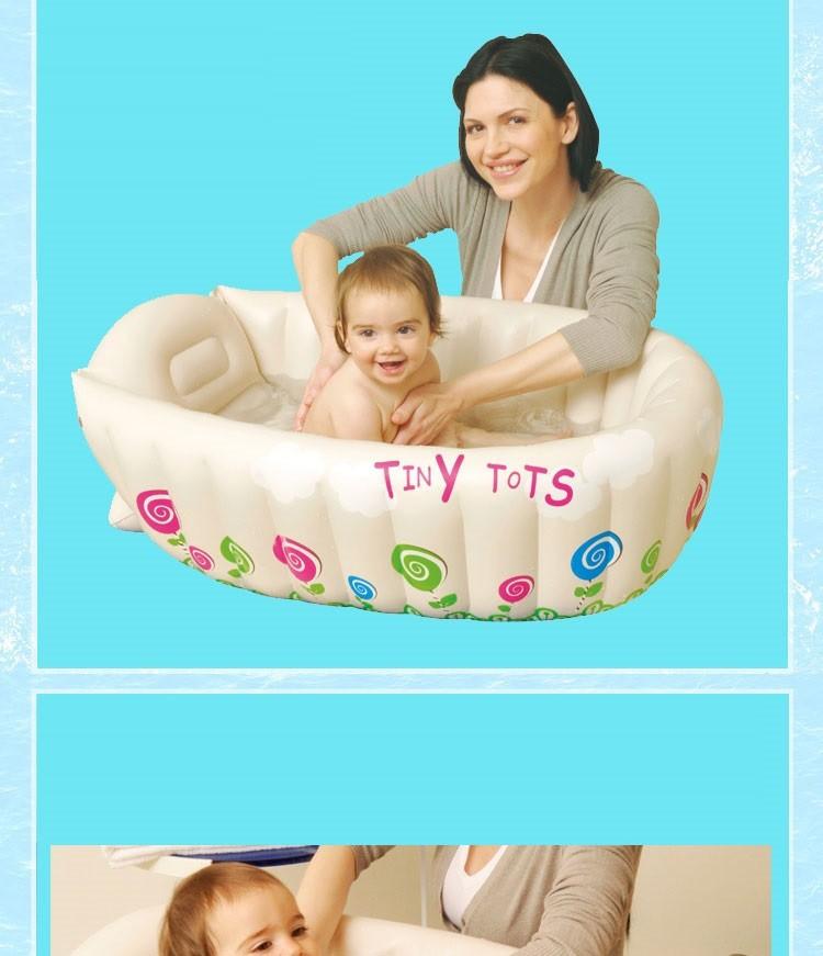 Inflatable Toddler Bathtub - Tubethevote