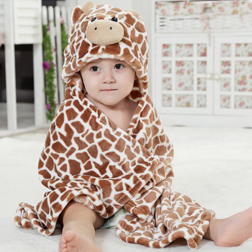 CARTERS - Animal Shape Baby Hooded Bathrobe Baby Bathrobe Baby ...